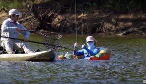 Kayak FLY Fishing & RV Camping on the Brazos River