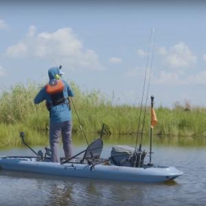 Louisiana Kayak Fishing