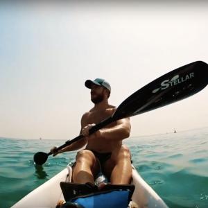 Kayaking in Doha