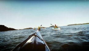 Sea kayaktrip
