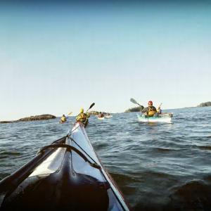 Sea kayaktrip
