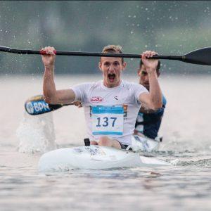 Pedersen makes canoe marathon history at Shaoxing world titles ©paddleworld.com