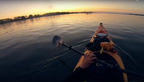 kayak session