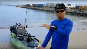 Predator PDL Kayak ocean test