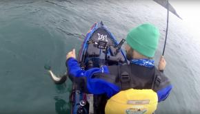 Irish kayak angling