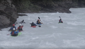 Whitewater Kayaking around Golden, BC