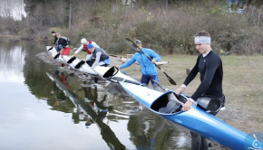 Canoe Sprint training
