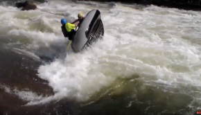 Freestyle Rafting at the Ocoee River Championships