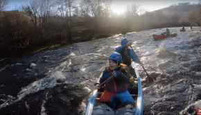 Canoeing Christmas Day 2019