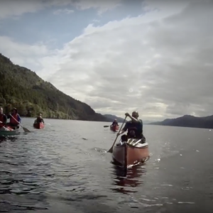 Open Water Canoeing - Great Glen Canoe Trail