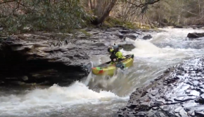 Whitewater Canoeing - Rock Run