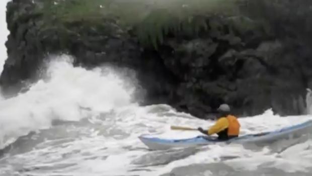 Sea Kayaking Trinidad with Sterling Kayaks.