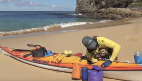 How to load a sea kayak - Expedition Sea Kayaking Australia