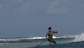 Patrice CHANZY In Stand Up Paddle Surf Evolution
