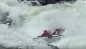 White Water Rafting Grade 5 Rapids on the Zambezi River