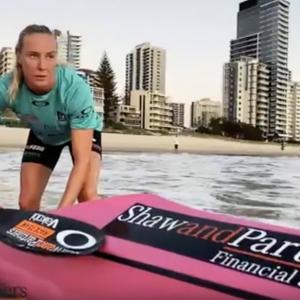 Danielle McKenzie Surf Ski