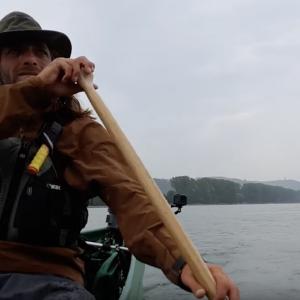 Canoeing the Rhine river. Urban Nature Canoe Adventure Trip.Episode seventeen. ¨DEUTSCHES ECK¨