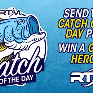 The 2020 RTM Catch of the Day is an online event organized by Paddle World mag, presented by RTM kayaks.