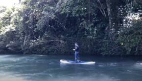 Paddling the Sarakata River