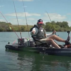Kayak Fishing for Striper and Largemouth Bass
