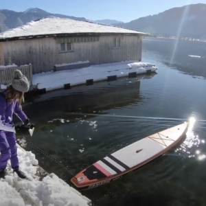girls_on_sups - our last winter SUP tour this winter!
