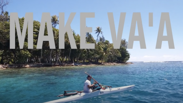 Tahitian stroke V1 by Tahitian paddler