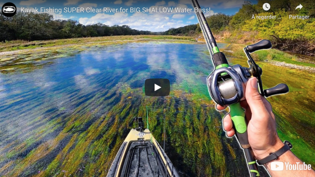 Follow John B taking you to one of his favorite fishing place, the Brazos river in Texas, a big shallow water Bass heaven...