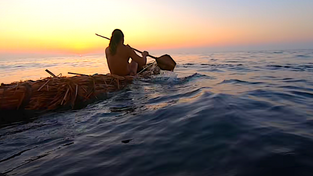 Primitive Ocean Kayak Fishing and Dolphin Encounter with Chad Zuber