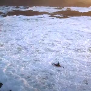 kayak hispter whitewater
