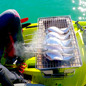 taku kondo catch and cook fishing session in california
