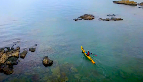 edging tutorial by online sea kayaking