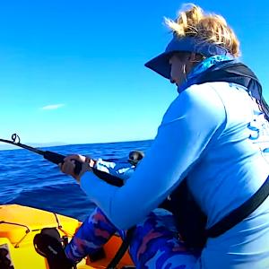 marling kayak fishing