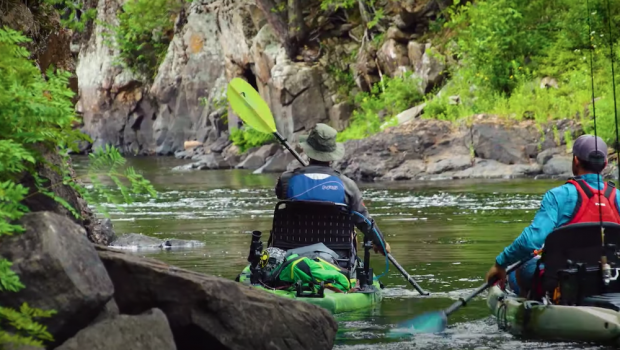 paddle tv petawawa river guide kayak fishing