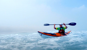 Online Sea Kayaking tutorial on how to surf