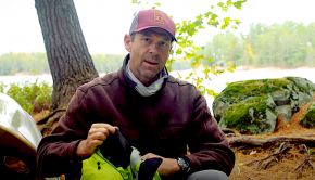 gear for canoe trip by ken whiting