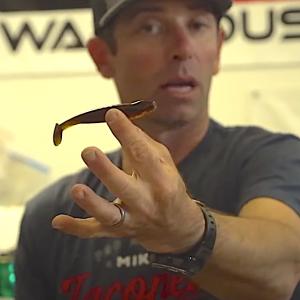 mike iaconelli soft vs hard baits for kayak fishing