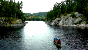 the pig portage 5 day canoe trip in canada by paddle TV