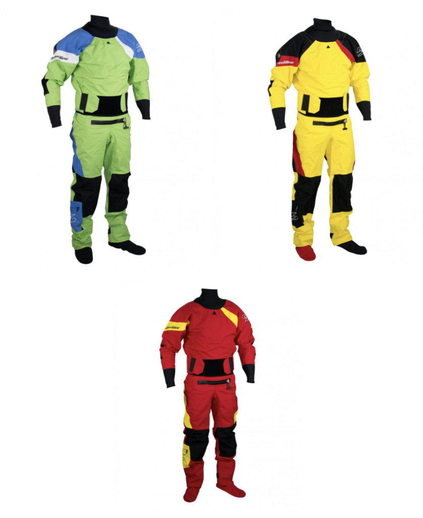 sandiline extreme 4L drysuit reveiw by the paddle sports show best whitewater drysuits for men in 2021