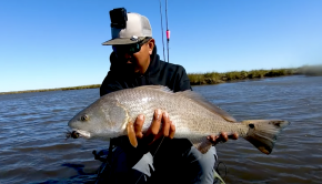 Follow Robert Field on a Redfish Catch & Cook episode in Louisiana. In this first part of a 4 part series, Robert assembled a huge crew of kayak anglers from around the country for the full Louisiana experience: from kayak fishing deep in the marsh to bowfishing from an airboat after dark.