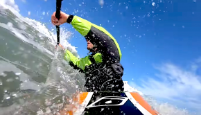 Follow Level Six Athlete Darren Joy surfing some sweet ocean waves! It's all about learning how to ride the wave. Enjoy!