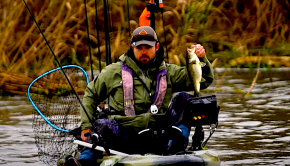 mike iaconelli kayak fishing hobie BOS review