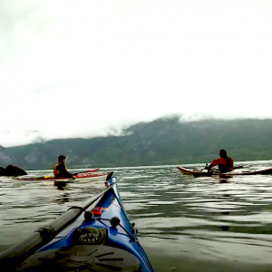 Follow Mike McHolm sea kayaking from Squamish Harbour to Tantalus Landing in BC, Canada. The location is good for camping and easy paddling, just watch out for the wind in Squamish bay if you decide to go yourself!