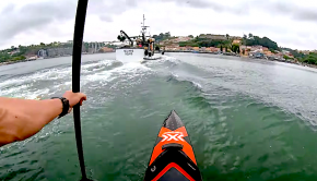 Follow Bruno Hasulyo doing his favourite activity, SUP surfing in the wake of a boat! Bruno presents us with some epic POV gopro footage, check it out!