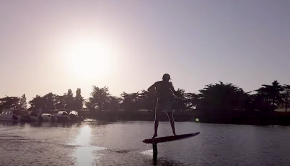 Follow Arthur Arutkin on a sup sunset foil boarding session in his local harbour! Some nice drone shots in there...Follow Arthur Arutkin on a sup sunset foil boarding session in his local harbour! Some nice drone shots in there...