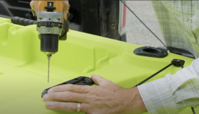 Ever wanted to customize your fishing kayak? Ken Whiting shows us some tips and tricks on how to mount accessories to make your paddling experience the best it can possibly be! Check it out!