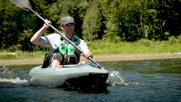 Ken Whiting from Paddle TV reviews the new revolutionary fishing kayak, the Bonafide EX123. With increased storage, stability and comfort, and an affordable price, this could be a game changer in the kayak fishing world.
