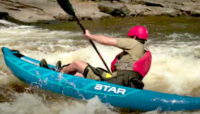 Paddle TV present with a new review video of the Raven Pro, by Star Inflatables. This is a great all round inflatable kayak that can take you into more challenging conditions than your average inflatable. The Raven Pro is also visible in the 2021 Buyer's Guide or Paddlerguide.com.