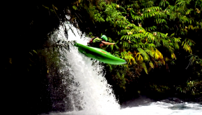 Follow a group of french paddlers exploring the rivers of the Réunion Island in the Indian Ocean for 2 months. With volcanic rock, lush jungles and enless waterfalls, this place is a paradise.