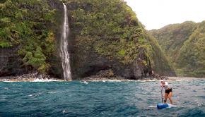 """Watch this short edit by SIC MAUI: """"Everything on this planet is made of 75% water. It's the source that binds all of life. """""""