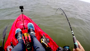 Join Houston Stewart as he heads out kayak fishing on an awesome day full of great fish fights! Check out his tips for using fresh bait to haul in some of his toughest fish yet!